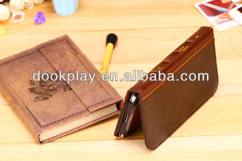 For Samsung Galaxy Note 3 Retro Book Leather Case