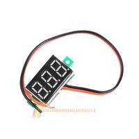 R1B1 10x V20D 3-Cable 0.36 inch 3-Digit LED Red Light DC0-100V Digital Voltmeter