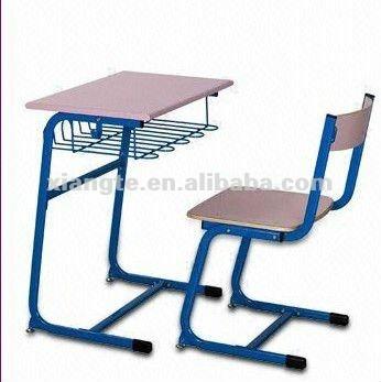 la escuela de metal silla de escritorio para estudiantes