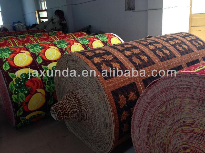 100% polyester, latex, retour imprimer tapis de porte
