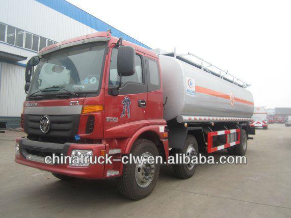 Famous brand foton auman 25cbm fue tanker truck