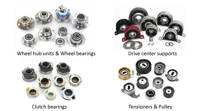 Center Support Bearing 1000008900022 for VW Touareg, Porsche Cayenne, Audi Q7