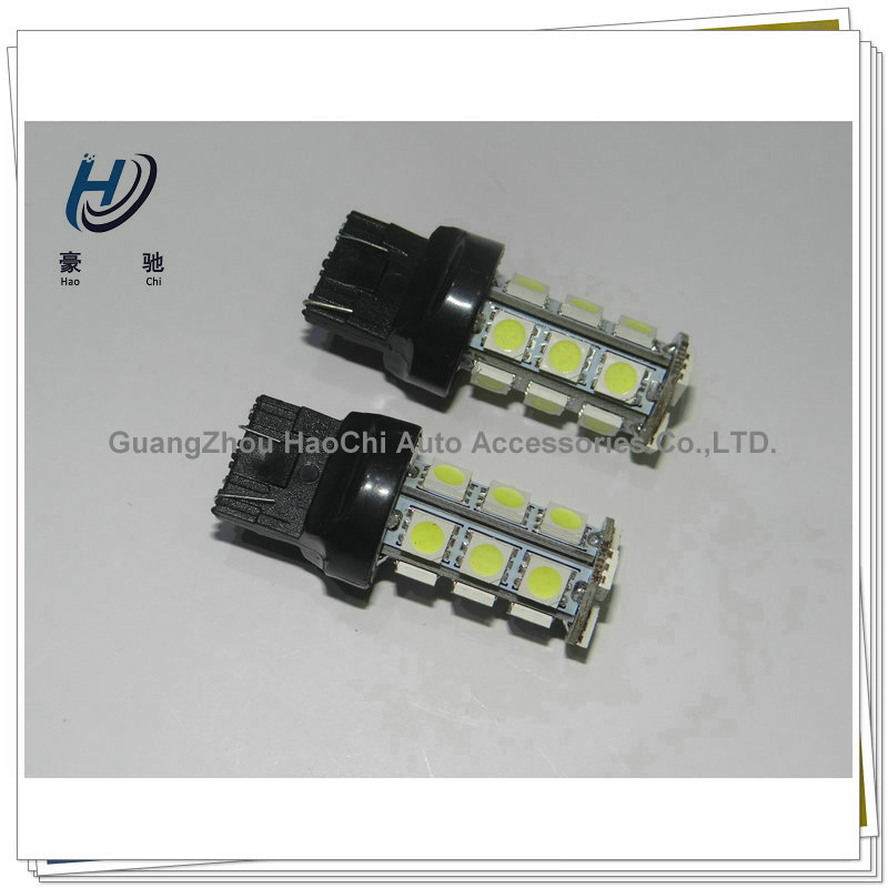 7440 7443 t20 18smd 5050 smd brake led tuning light 7443 led red