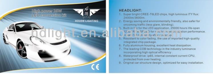 canbus digital ballast/9004 7 HID xenon bulb/12v 25w HID headlight