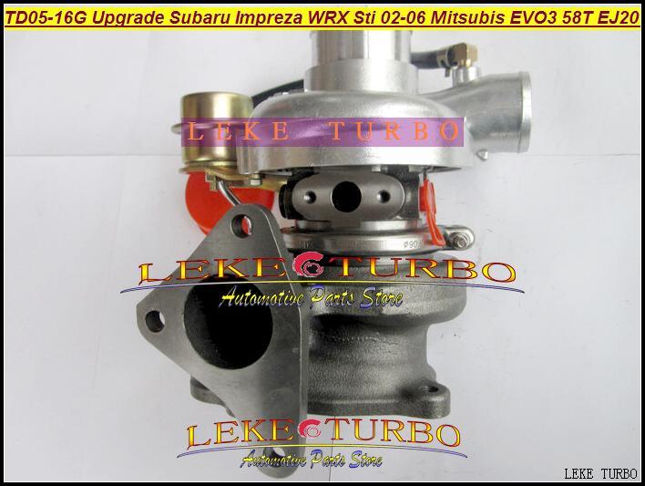TD05-16G TD05H-16G 49178-06310  for Upgrade Subaru Impreza WRX Sti 02-06 Mitsubishi EVO III 58T EJ20 Turbo Turbine Turbocharge