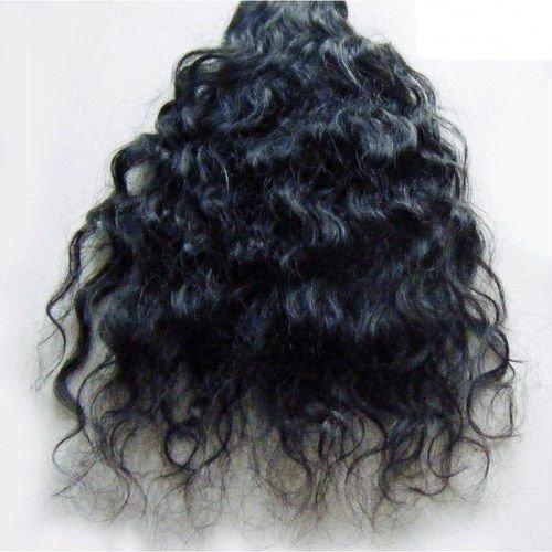 Cabelo templo Indiano cru, rei cabelo extensões de cabelo humano de 100%