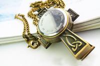 Карманные часы на цепочке New vintage classic cross pocket watch clock necklace pendant men