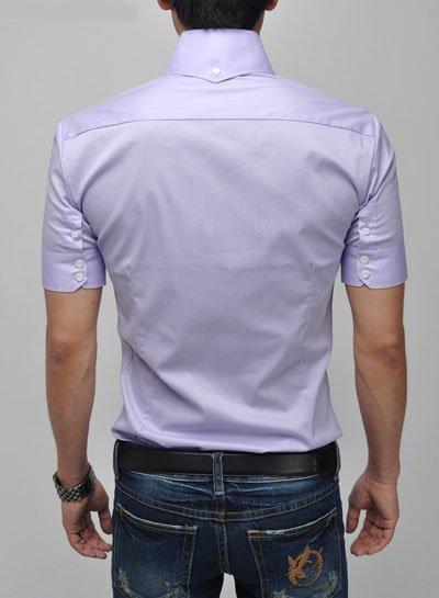 Summer Fashionshirts on Men S Short Sleeve Shirts Fashion New Summer Men Shirt Casual Men S