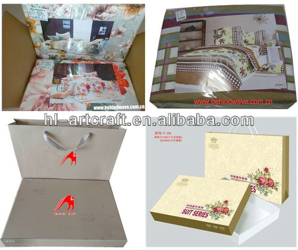 Wholesale Quilt Cover Packaging BagsBedding Set Luxury