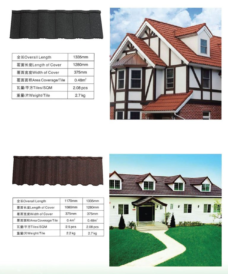 Hotest building material metal spanish tile roofing