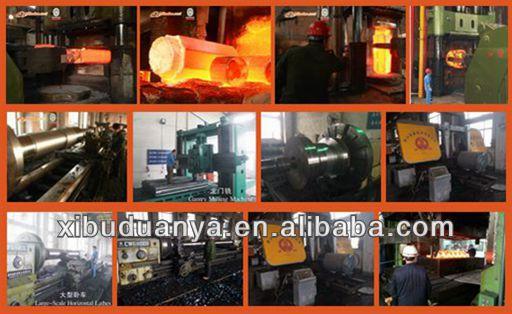 High precision custom machined steel motor shaft