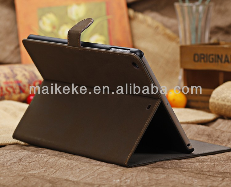 New Arrival For iPad 2/3/4 Flip Leather Cover Case