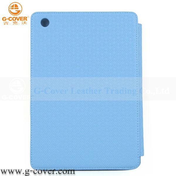 2014 new design for ipad Mini leather case, leather case for ipad Mini
