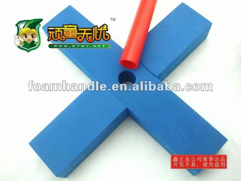 Innovative design soft foam mini baseball bat and grips toys