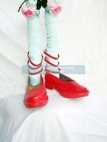 Ремилия косплей Хэллоуин Красный Обувь из touhou проекта