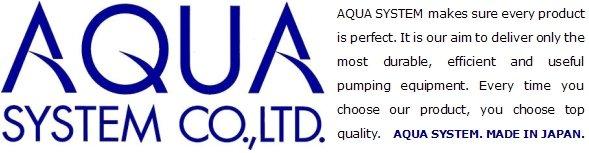AQUA SYSTEM slogan