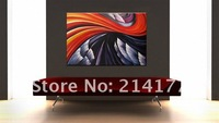 Free shipping 100% handmade modern canvas art flower painting abstract acrylic landscape oil painting framed ready for hanging!