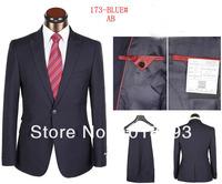 черный цвет хорошего качества три части s-4xl падение судоходство Мужские деловые костюмы одеваются