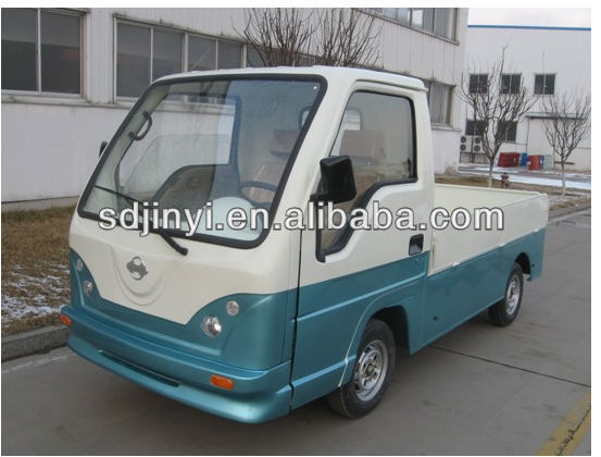 FWD electric mini pickup with CE
