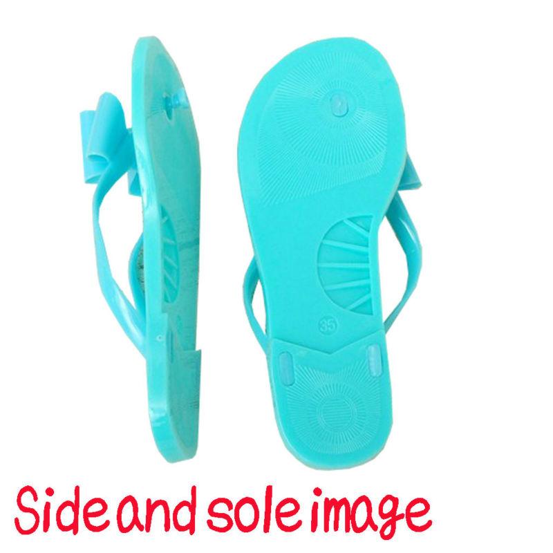 sandales flip flop avec un joli ruban