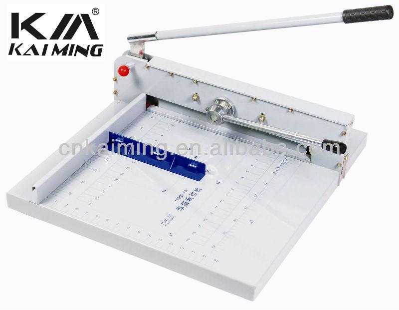 A3 A4 taille base métallique manuel guillotine papier coupe machine