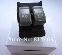 New Master Electric Power Window Switch Double Button Gray FOR Silhouette Venture Free Shipping ,(GM006GRAY)  Retail/Wholesale