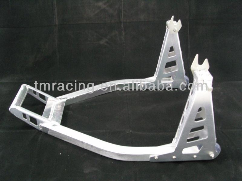 Aluminum Sport bike Motorcycle Rear Swingarm Spool Stand Jack Lift Paddock 3005