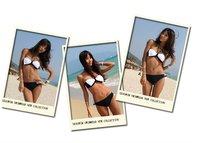 Wholesale Lovely Sexy Bikini Swimwear swimsuit, women BLACK color swimsuit free shipping,size M  L XL SW22