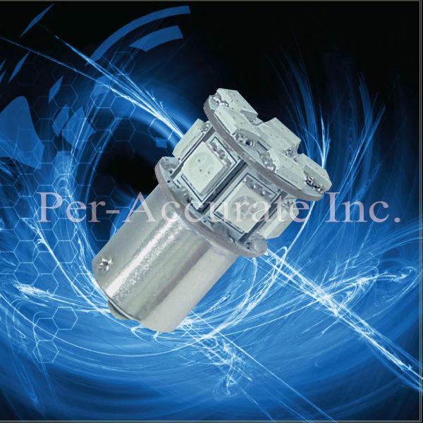 13 SMD LED Car Tail Backup Rear Turn Light Bulbs 1156 Ba15s 6V/12V/24V