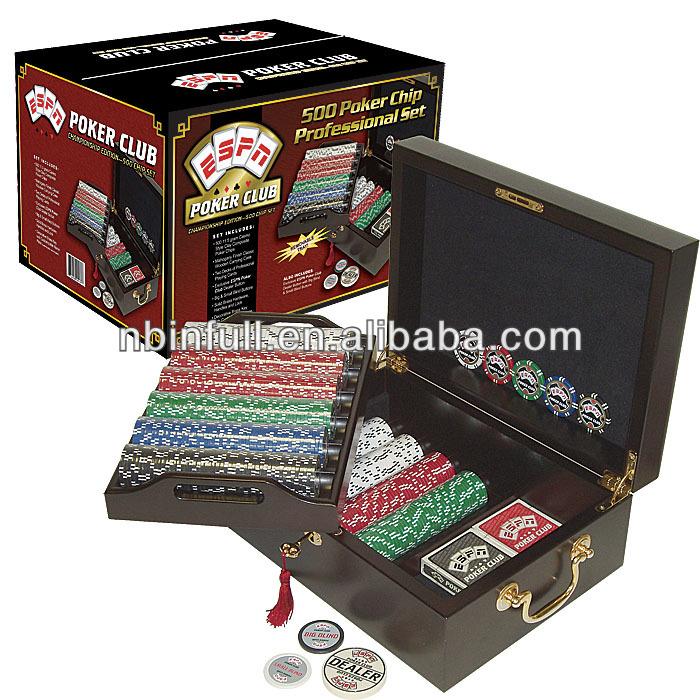 500 Piece poker clip set