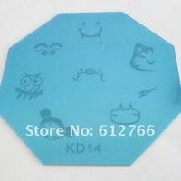 Free shipping /stamping nail art image plate KD series