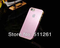 Чехол для для мобильных телефонов Hard Aluminum Brush Metal Case For iphone 5g iphone5, Matte Cases, Luxury Cover