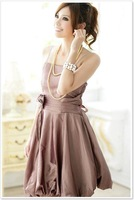 Free shipping!New Bridesmaid Dresses Evening dress Cocktail Dress Coffee Wholesale and Retail CS-1005(3)