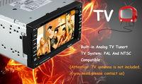 Автомобильный DVD плеер Universal High quality touch screen radios tv for car with Bluetooth MP4 AUX DVD VCD CD Radio USB SD TV