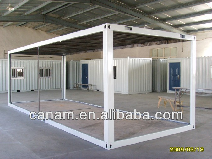 CANAM- prefab shipping container house inside pic