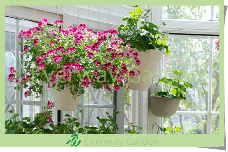 Plastic Flower Pot-Balcony Decoration