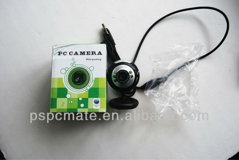 usb web camera , night webcam, 8 led light mini webcam