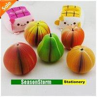 Блокнот для заметок Retail Cute Cartoon Fruit Memo Pads