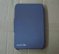 Чехол для планшета Clearance sale Original Edition Offical Leather Case For Samsung P6200 P6210 Galaxy Tab 7.0 Pus Tab Black