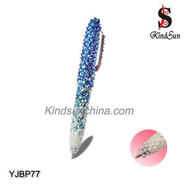 Bling bling promotional rhinestone ball pen