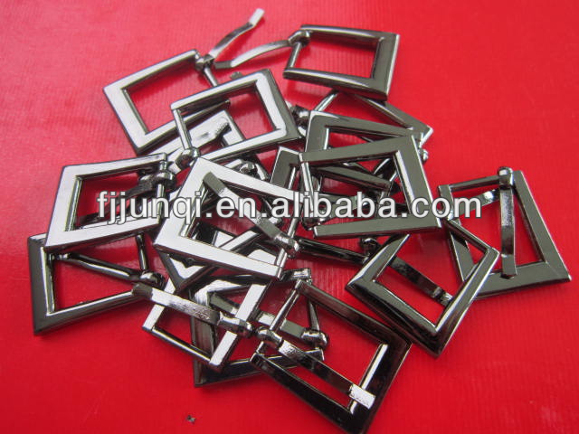 Fashional cheap wholesale black metal belt buckle factory