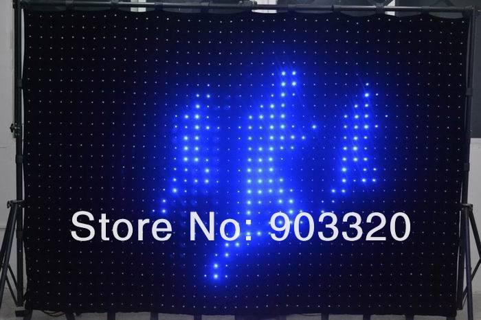 Купить Раша P10 2 м * 3 м 20 * 30 = 600 светод. управления пк из светодиодов видение занавес, Из светодиодов видение ткань, Из светодиодов для концерт, Ди-джея