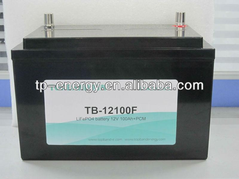 energy storage 12V 100AH