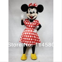 Foam HEAD mascot costume minnie mouse mascot costume party costume NO cardboard