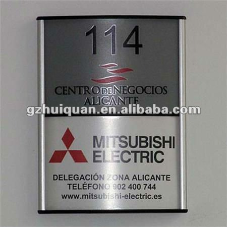aluminum frame sign stand for advertising equipment