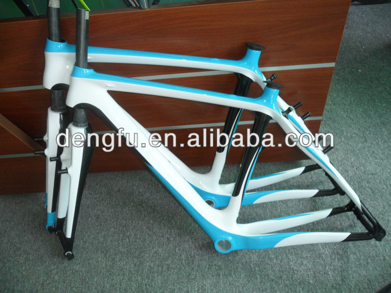Chinese factory produce carbon bike,DF-FM058 carbon light frame ,cyclocross bike frame CX frame&fork