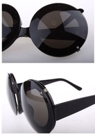 Женские солнцезащитные очки 100% UV resistance material lady gaga funy black women sunglasses SN-008