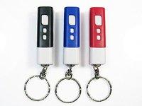 Настольные часы Mini Portable LCD Projection Clock Keychain Flashlight /Retail