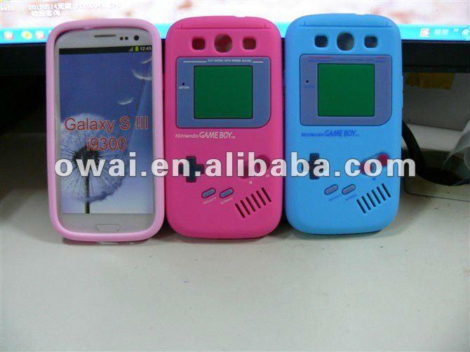 New Game Fashion Gel TPU Soft Back Cover Case Skin for Samsung Galaxy S3 Siii I9300