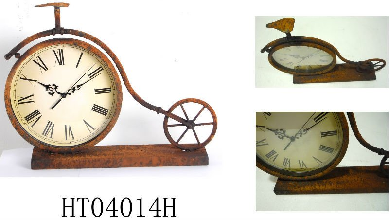 18 inch New style metal decorative table clock